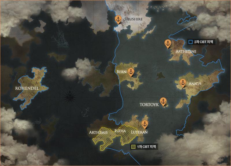 lost ark world map